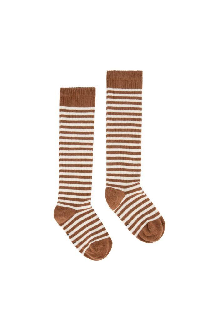 Gray Label Long Ribbed Socks Autumn/Cream_1