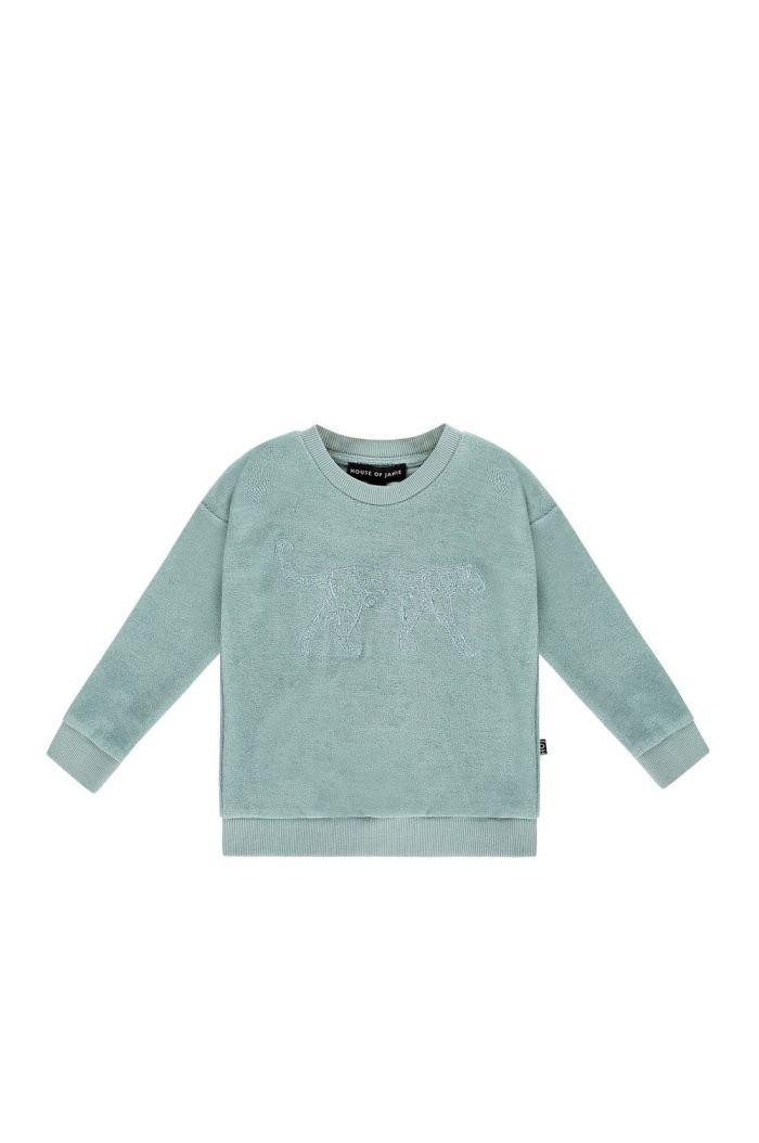 House Of Jamie Crewneck Sweater Jade Leo
