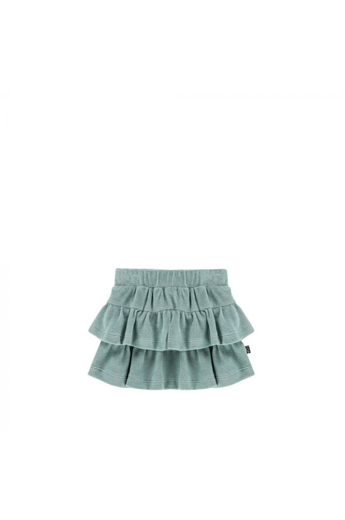 House Of Jamie Ruffled Skirt Terry Jade