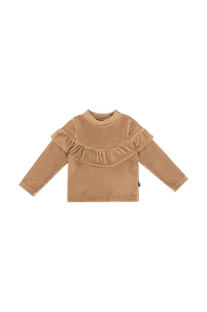 House Of Jamie Volant Sweater Biscuit rib velvet_1