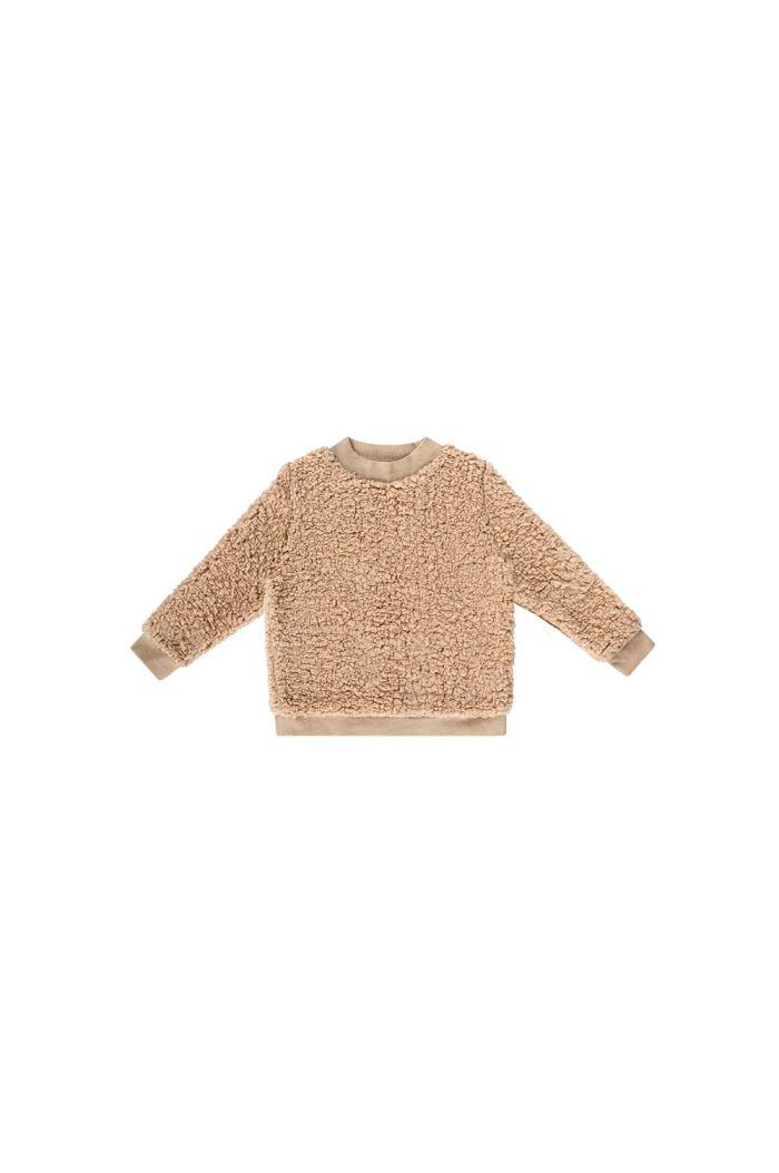 House Of Jamie Teddie Crewneck Sweater Oatmeal_1