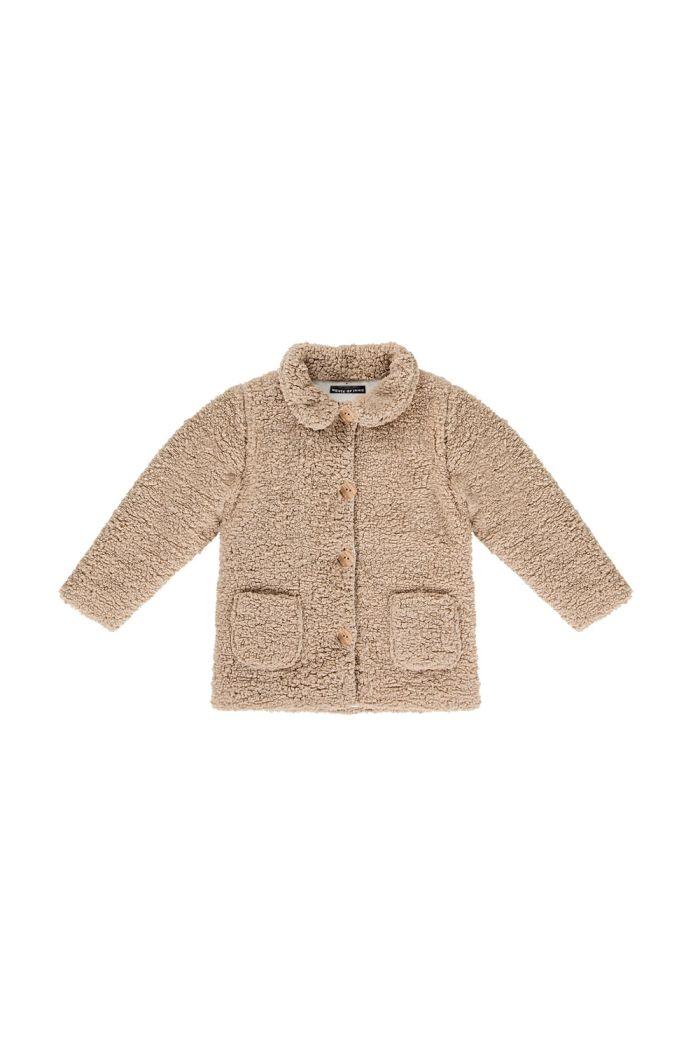 House Of Jamie Teddie Collar Coat Oatmeal_1