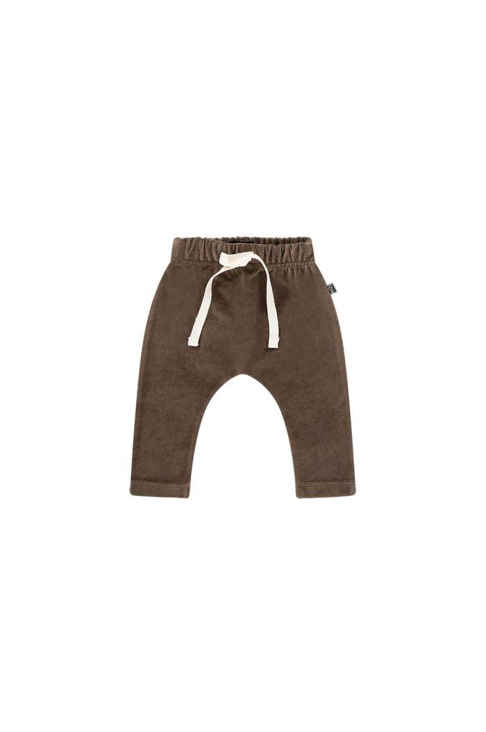 House Of Jamie Baby Pants Smoked choco velvet_1