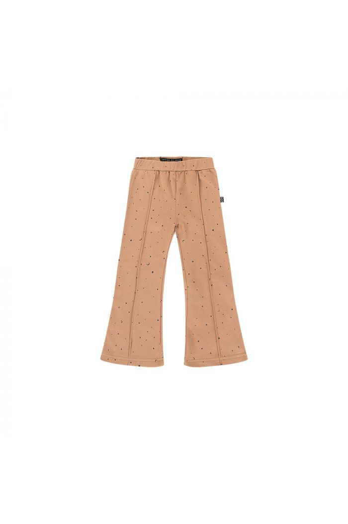 House Of Jamie Flared Pants Little stars mocca_1