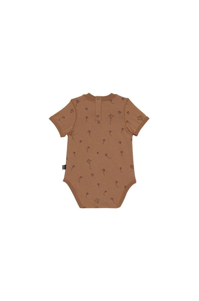 House Of Jamie Crewneck Bodysuit Burnt Ginger Kites _1