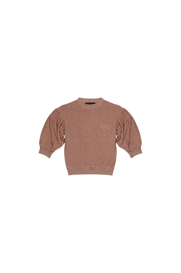House Of Jamie Balloon Sweater Baked Clay_1