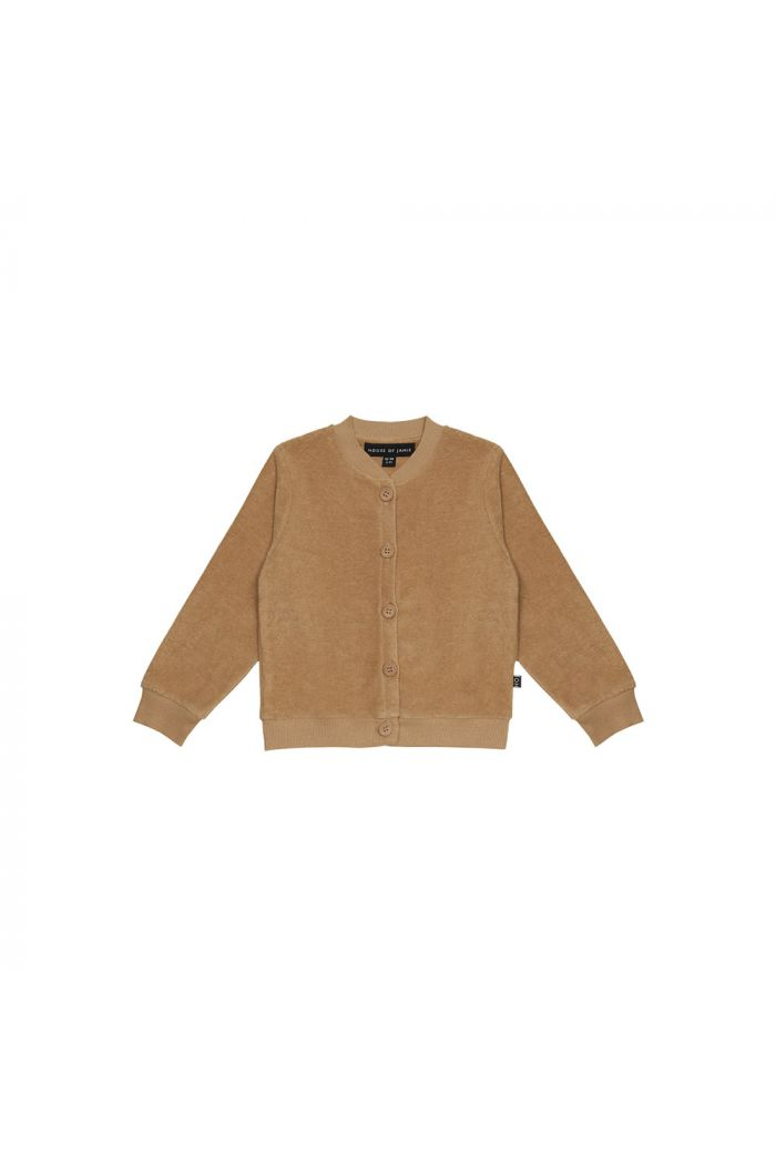 House Of Jamie Boys Button Cardigan Apple Cider _1