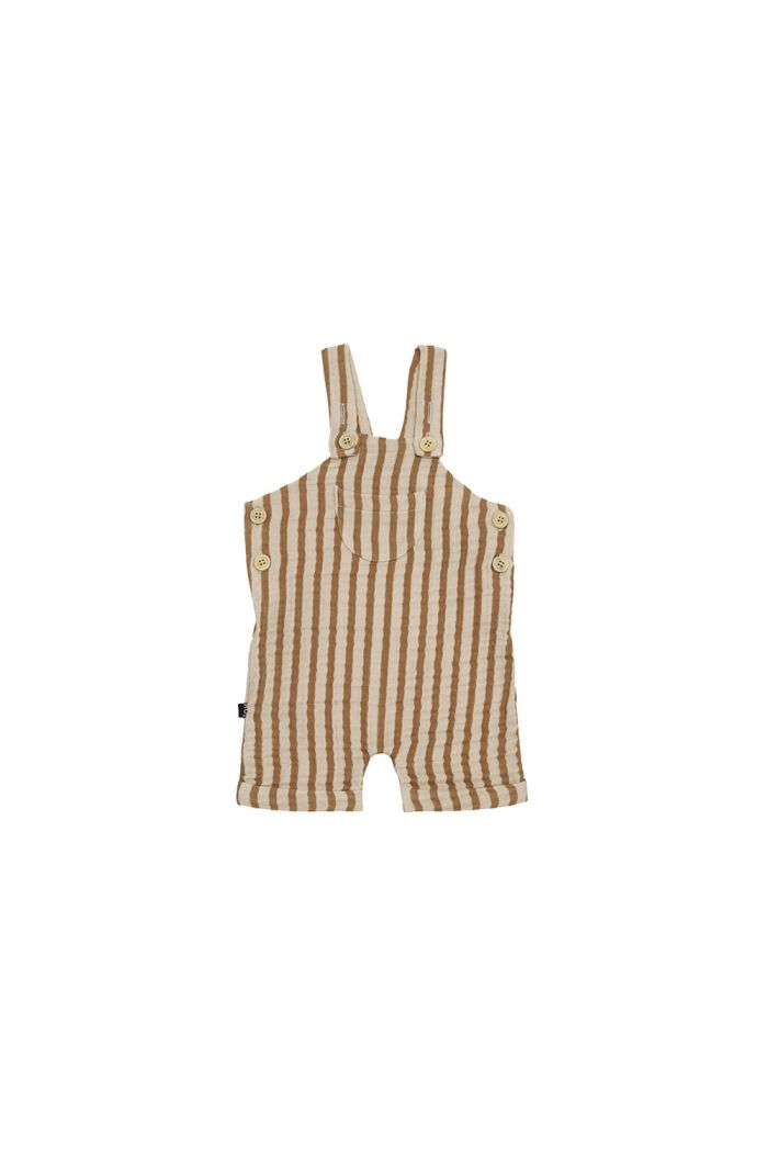 House Of Jamie Relaxed Dungaree Vertical Apple Cider Stripes _1