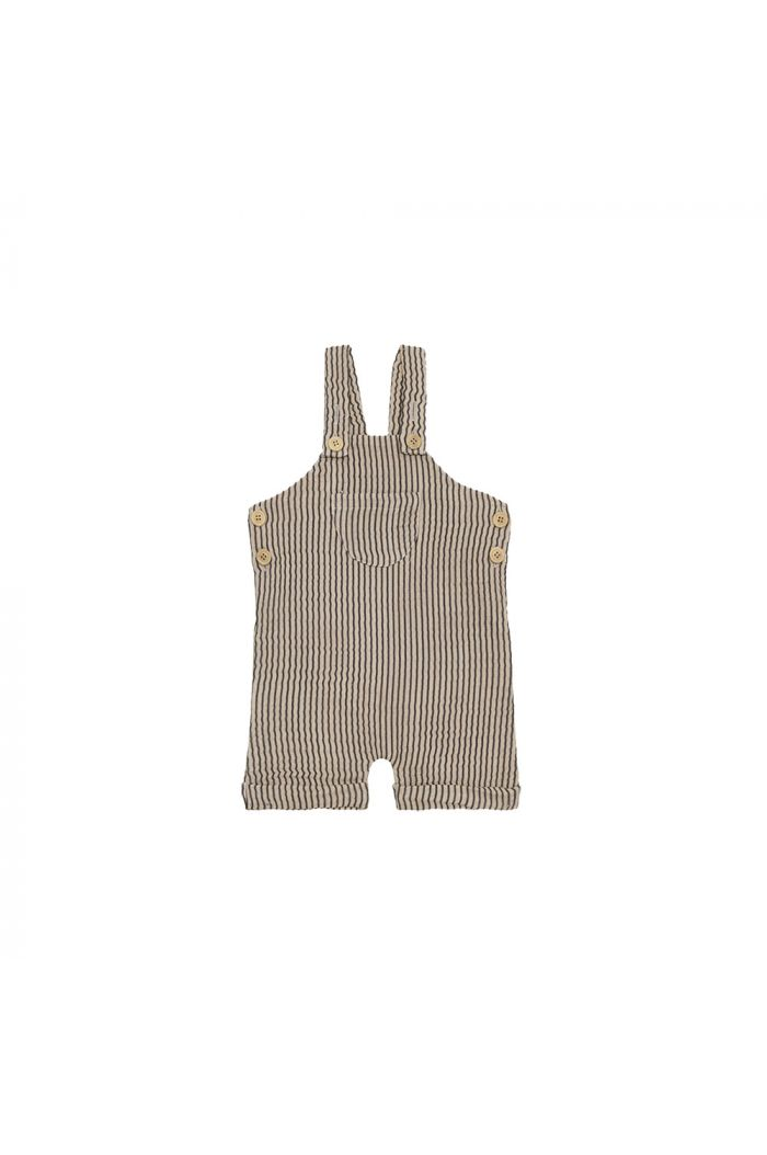 House Of Jamie Dungaree Charcoal Sheer Stripes_1