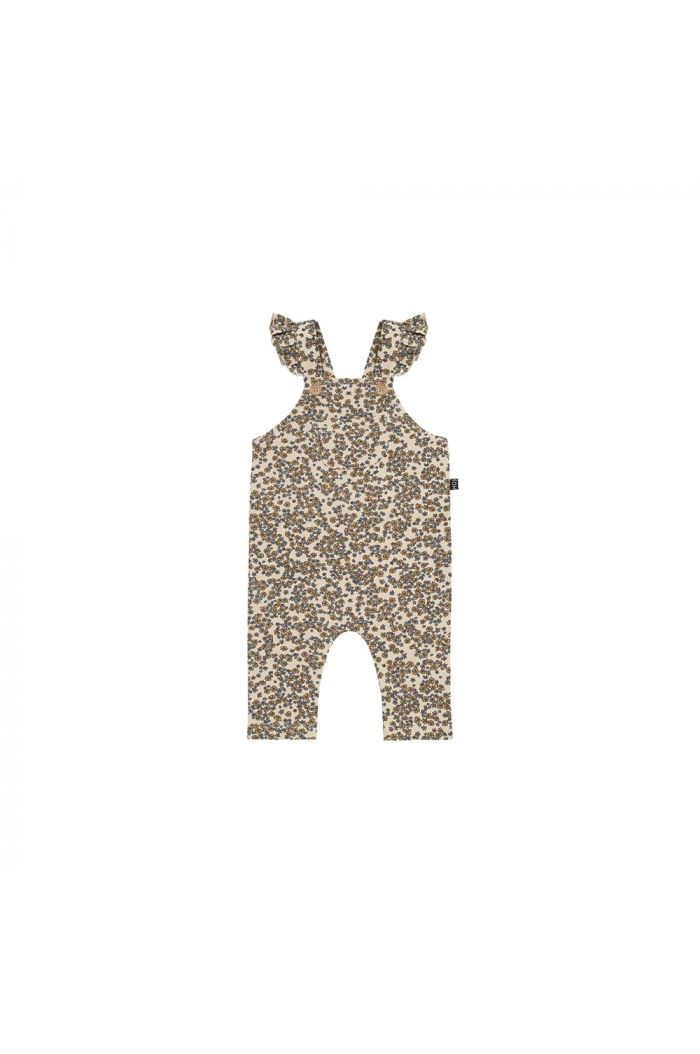 House Of Jamie Baby Girls Dungaree Apple Cider Blossom _1