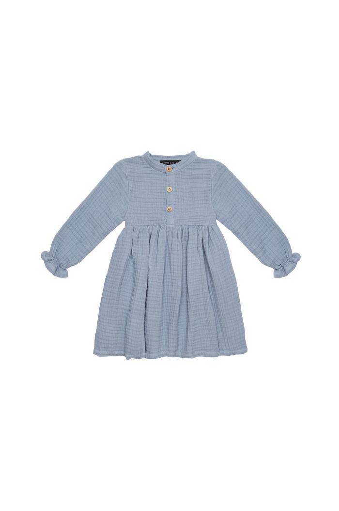 House Of Jamie High Waist Dress Blue Fog _1