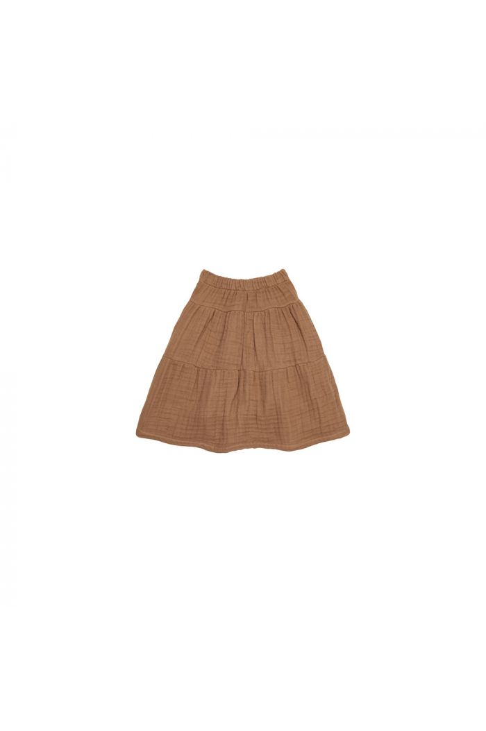 House Of Jamie Midi Skirt Burnt Ginger _1