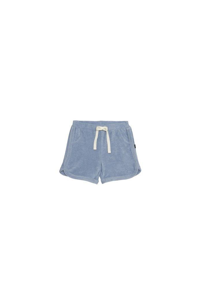 House Of Jamie Gym Shorts Faded Denim _1