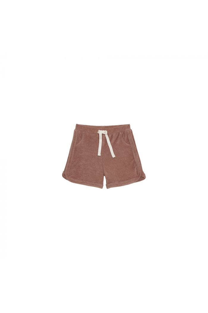 House Of Jamie Gym Shorts Baked Clay_1