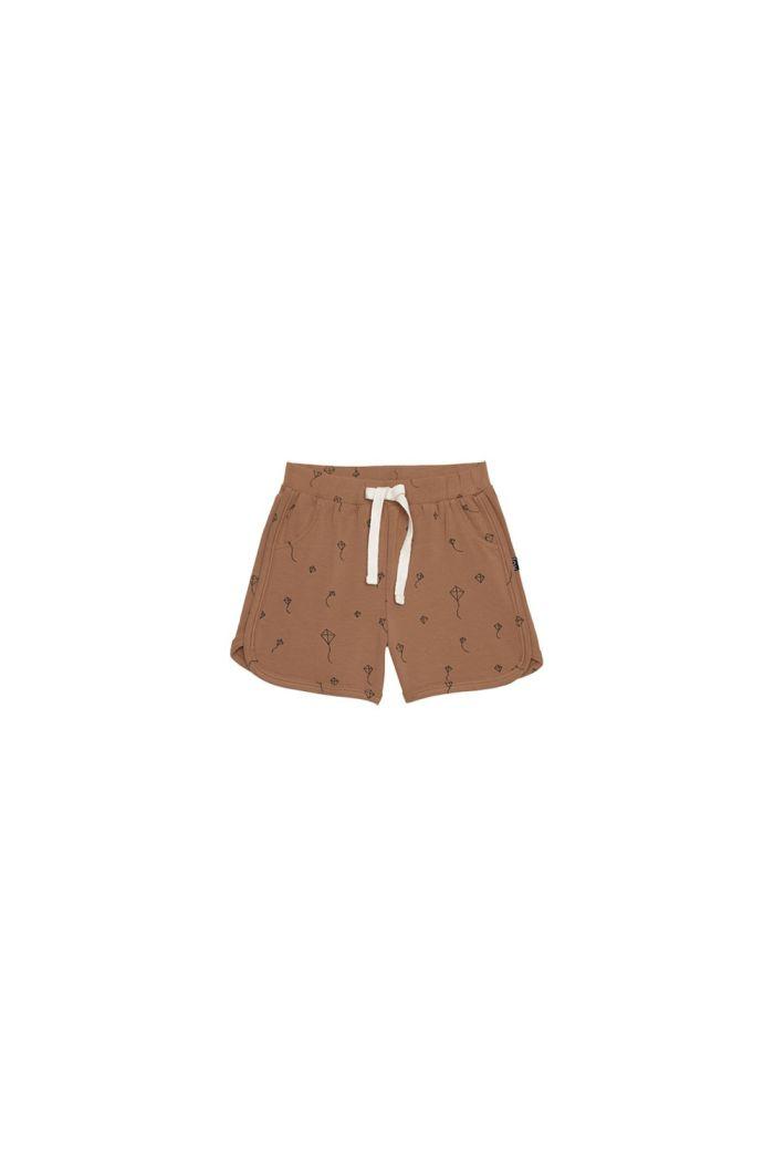 House Of Jamie Gym Shorts Burnt Ginger Kites _1