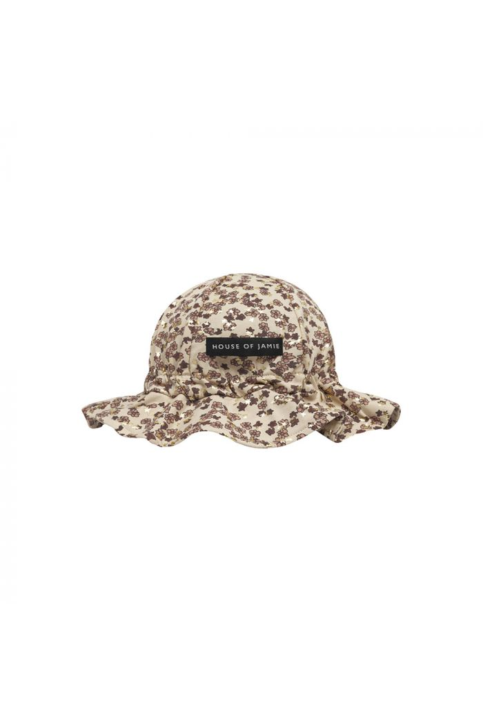 House Of Jamie Girls Sun Hat Golden Rose Dawn Blossom_1