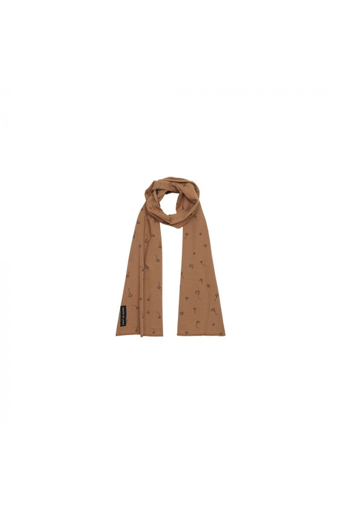 House Of Jamie Long Summer Scarf Burnt Ginger Kites _1