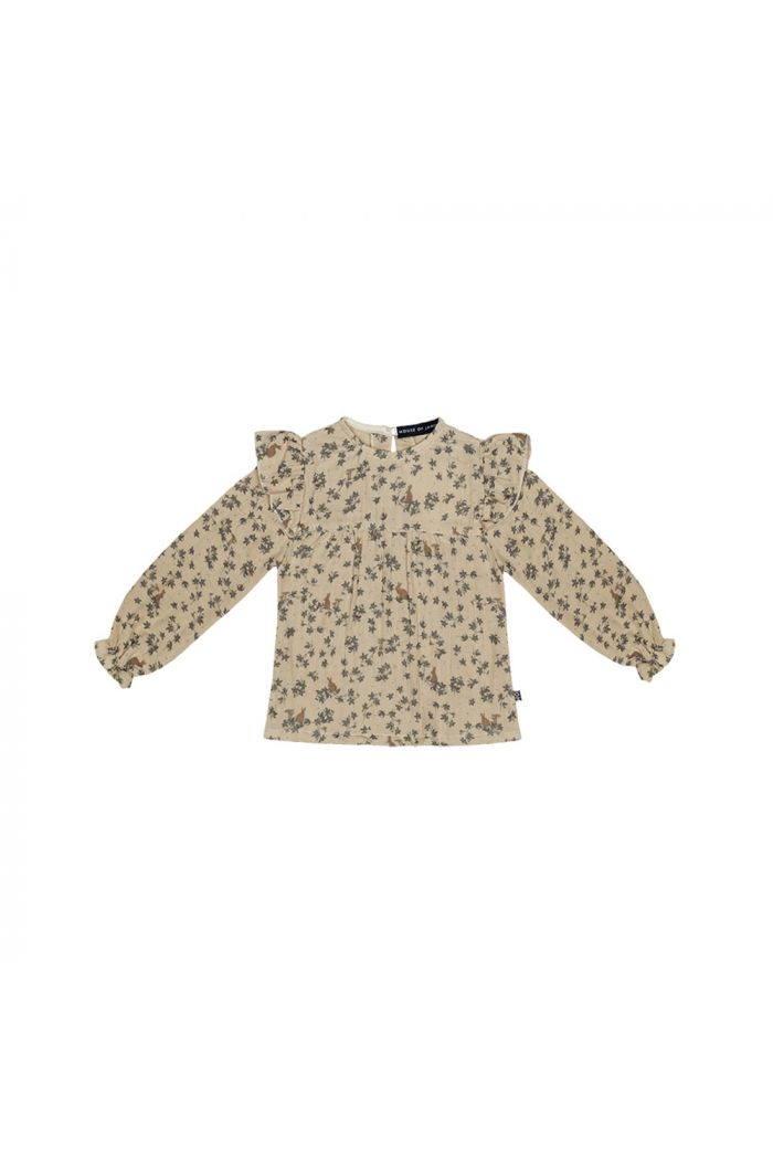 House Of Jamie Frill Tunic Oatmeal Forest_1