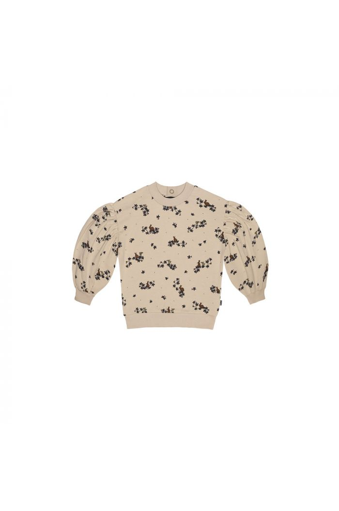 House Of Jamie Balloon Sweater Oatmeal Forest_1