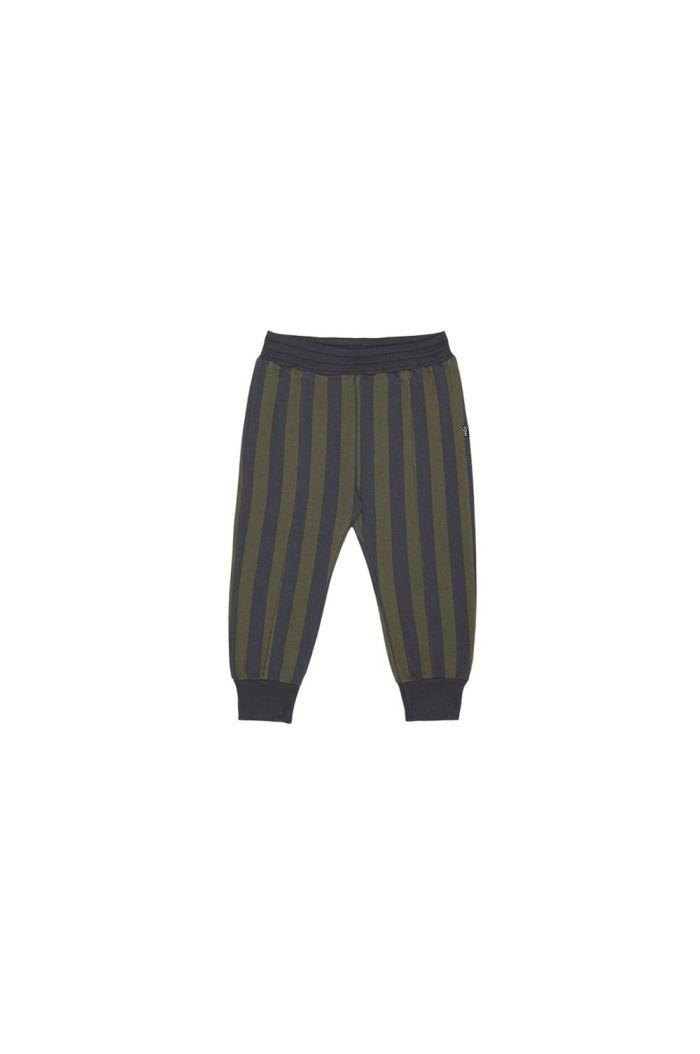 House Of Jamie Sweatpants Moss & Blue Stripes_1