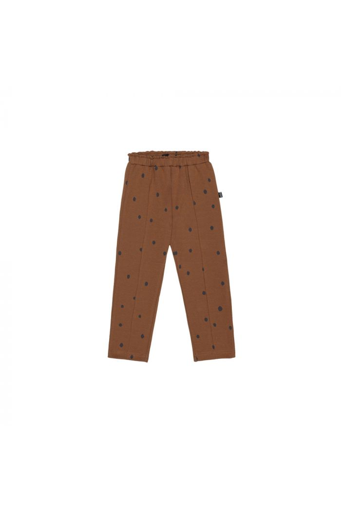 House Of Jamie Girls Pants Ginger Bread Dots_1