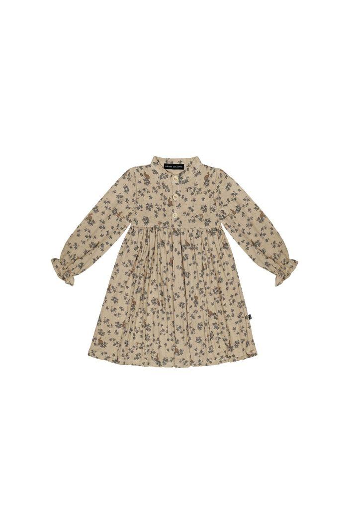 House Of Jamie High Waist Dress Oatmeal Forest_1