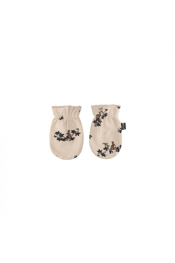 House Of Jamie Scratch Mittens Oatmeal Forest_1