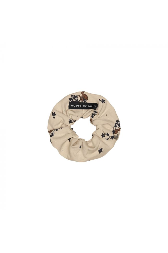 House Of Jamie Scrunchie Oatmeal Forest_1