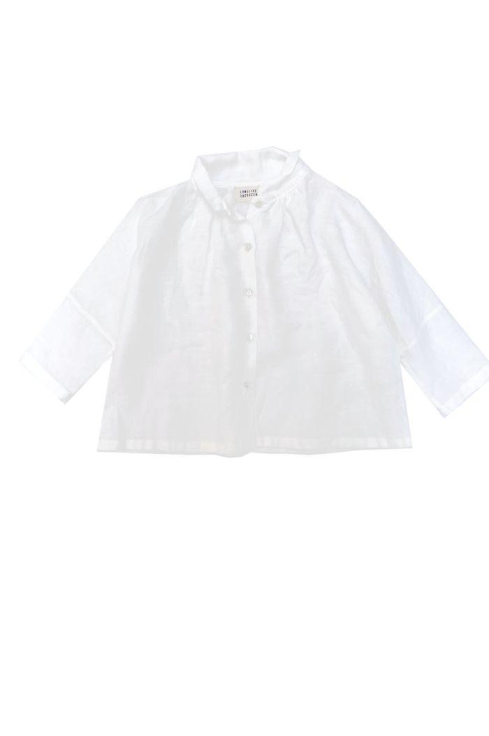 Longlivethequeen Linen Blouse white linen