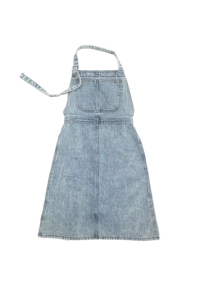 Longlivethequeen Apron Dress blue denim_1