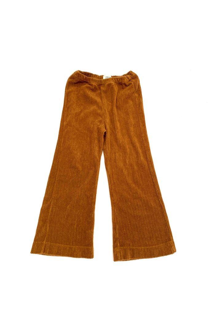 Longlivethequeen Flared Pants golden brown_1