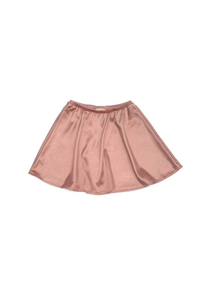 Longlivethequeen Flared Satin Skirt ballerina_1