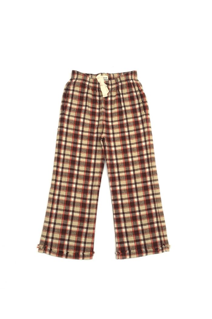 Longlivethequeen Check Pants orange check_1
