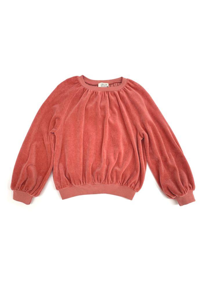 Longlivethequeen Velvet Sweater dustyrose_1