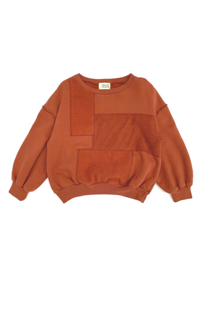 Longlivethequeen Sweater Rust_1