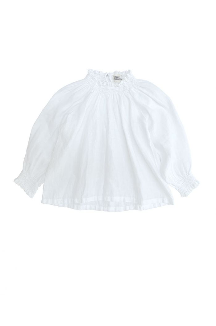 Longlivethequeen Linen Blouse white_1
