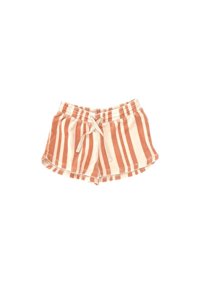 Longlivethequeen Shorts Orange Stripe_1
