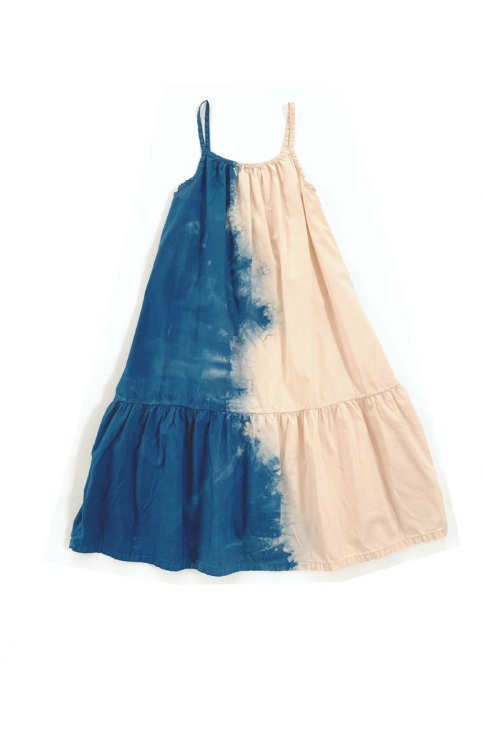 Longlivethequeen Wide Dress Blue Dipdye_1