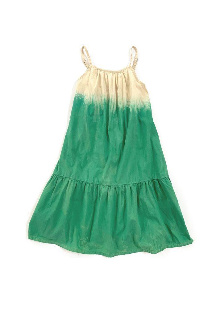 Longlivethequeen Wide Dress Green Dipdye_1