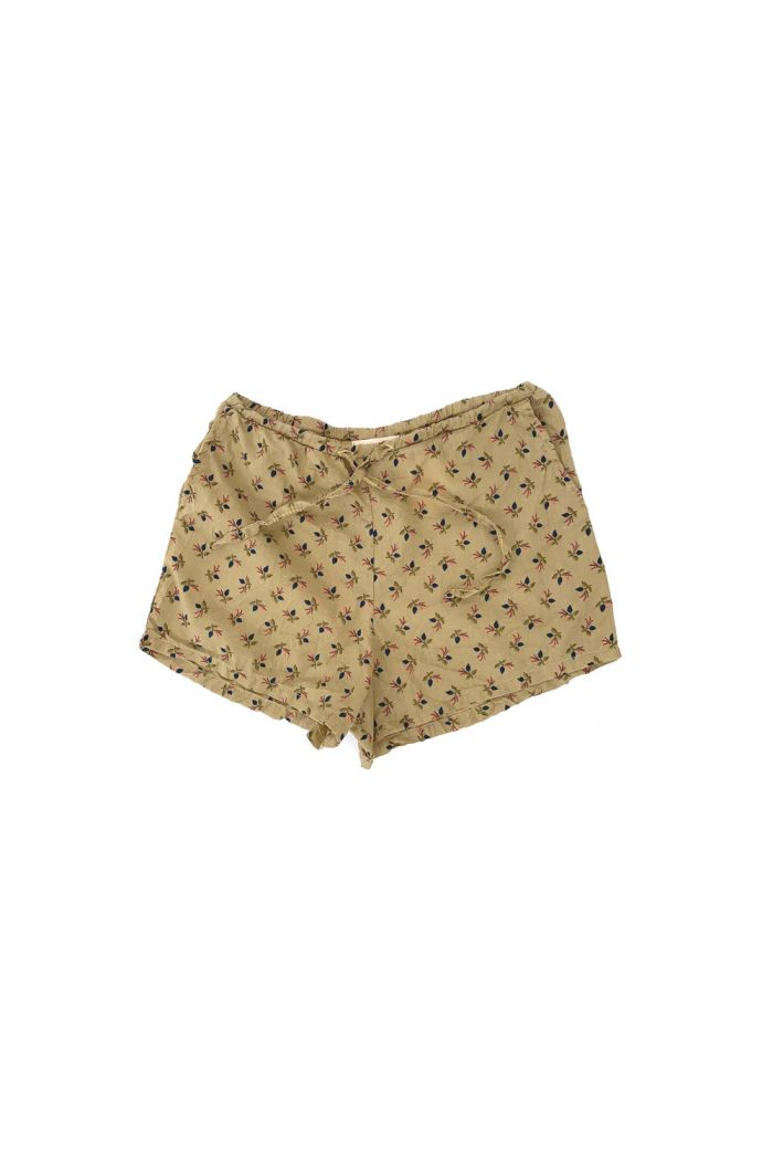 Longlivethequeen Shorts Flowers Sage_1