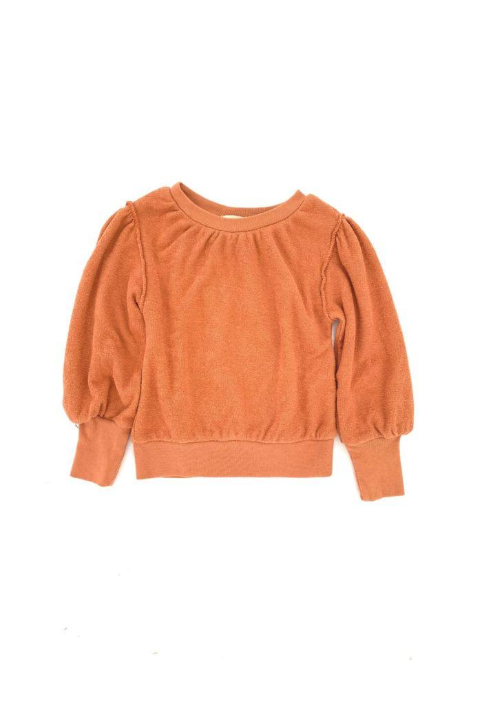 Longlivethequeen Puffed Sweater Fazant_1