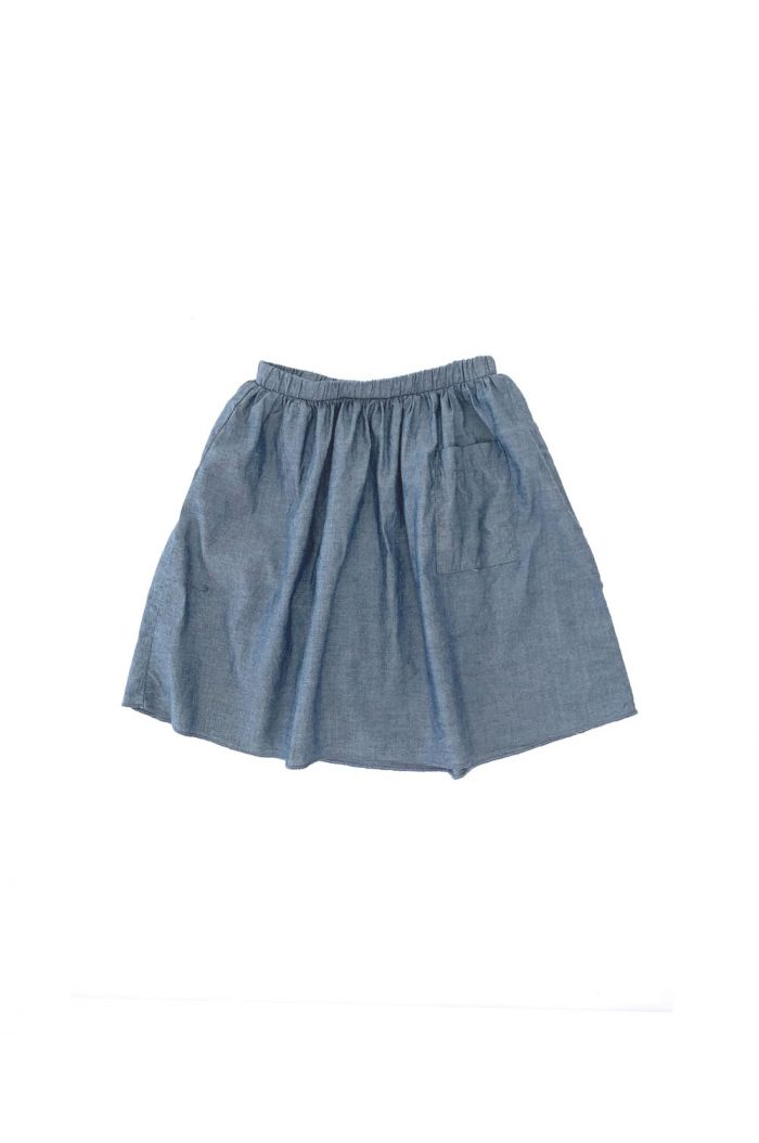 Longlivethequeen Skirt Blue Chambray_1