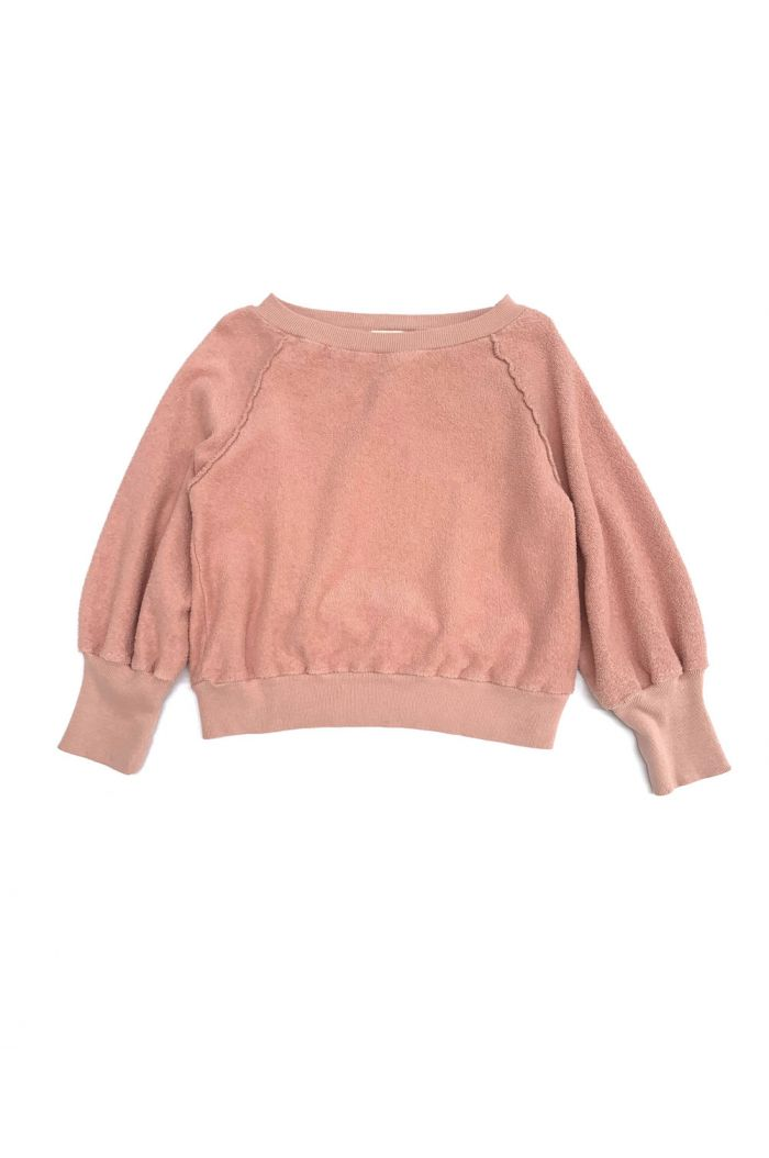 Longlivethequeen Terry Sweater Old Rose