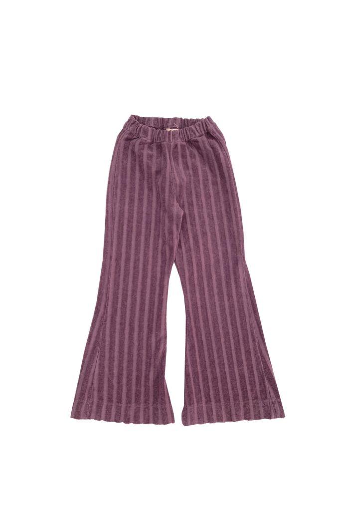 Longlivethequeen Ribvelvet Pants Grape
