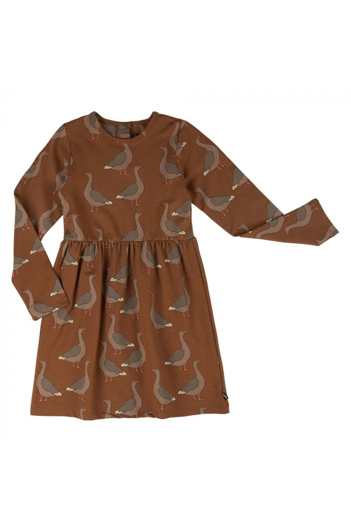 CarlijnQ Skater Dress Goose_1
