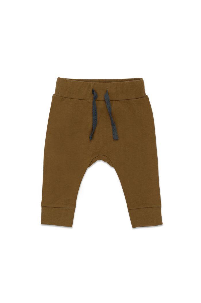 Phil&Phae Drop-crotch baby pants Bronze Olive_1