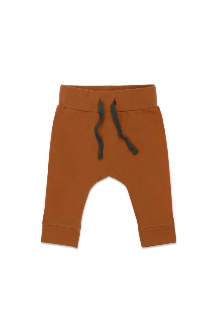Phil&Phae Drop-crotch baby pants Gingerbread_1