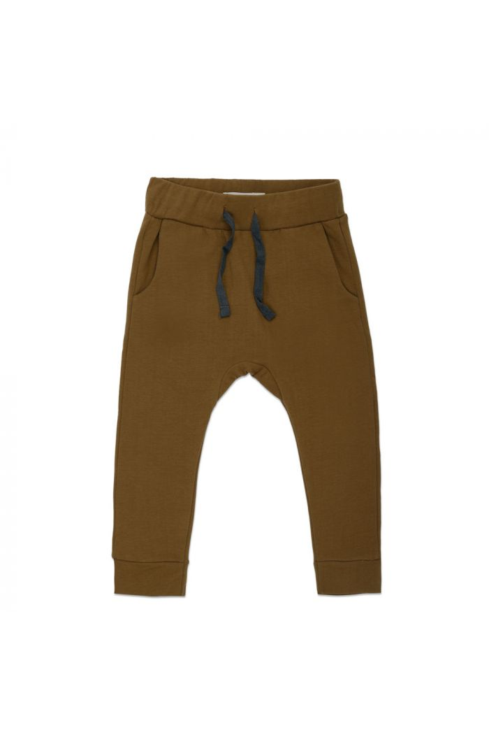 Phil&Phae Drop-crotch sweat pants Bronze Olive_1