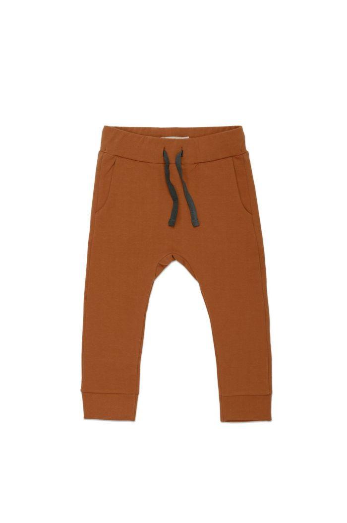 Phil&Phae Drop-crotch sweat pants Gingerbread_1