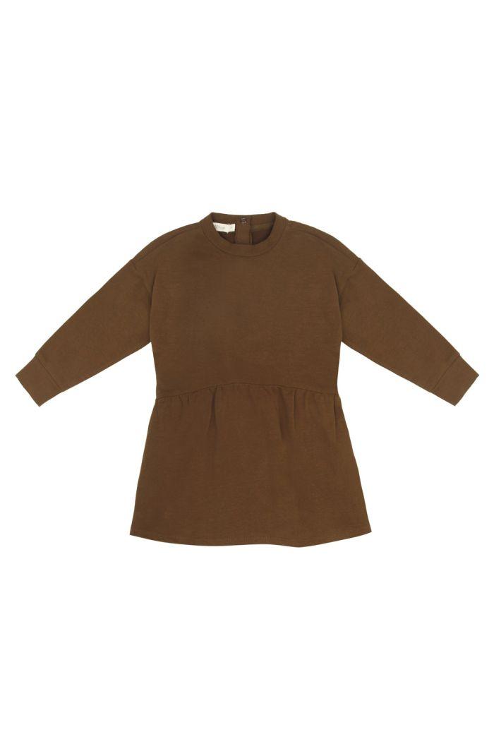 Phil&Phae Oversized dress Bronze Olive_1